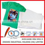 Best quality inkjet/laser heat transfer paper for light and dark color t-shirt A3 A4