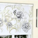 China design flower pattern sun block blind curtain fabric                                                                         Quality Choice
