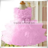 New 2015 Flower Girl Christening Wedding Party Pageant Dress Baby First Communion and Toddler Gown Child Bridesmaid Clothing D84                                                                         Quality Choice