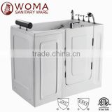 2014 rectangular balboa system indoor small jetted walk in tub