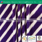 Changshu selling weft knitted elastic printed sofa fabric / garment fabric