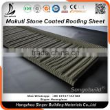 Aluminum Zinc Alloy Metal Roof Sheet, Colorful Blue/Grey/Red/Black stone coated roof tiles