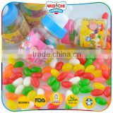 Promotional fruit flavored soft sweet gummy jelly candy
