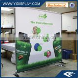 Horizontal banner stand