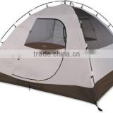 Rectangular dome style tent with pole clips for quick assembly                                                                         Quality Choice