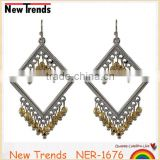 Charming elegant national style women vintage Bohemia earrings