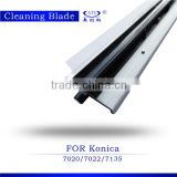 excellent copier spare part drum cleaning blade for KONICA K-7020 7025 7030 photocopy machine