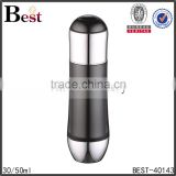 high quality black 30ml 50ml acrylic bottle plastic cosmetic face cream bottle lotion container                                                                                                         Supplier's Choice