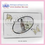 8x12 Elegant Acrylic Curved Glass Photo Frames Wholesale