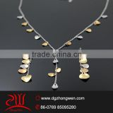 316 L stainless steel casual jewellery set