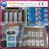 plastic blister packaging machine for flashlight,batteries, spark,lipsticks,facial masks
