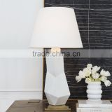 0605-3 figural art A timelessly chic piece that is the picture of modern refinement white ceramic lamp