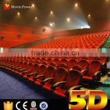 Electric System 60 Seats Motion Theater Seats with special Effects For 5D Cinema entertainment