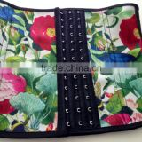 2015 Wholesale waist trimming corsets lotus print New Arrival Ann Chery Waist Cincher Wholesale