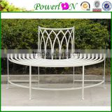 Classic Vintage Wrought Iron Decorative Garden Bench For Outdoor Furniture I21 TS05 X11B PL08-8673CP2