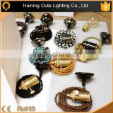 Manufacture high quality vintage edison bulbs lamp holder pendant light lamp holder                                                                         Quality Choice