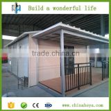 Prefab container office villa school accommodation homes from china supplier