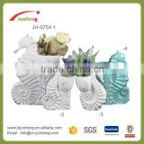 home & garden glazed ceramic hanging pots, large outdoor tree ornaments