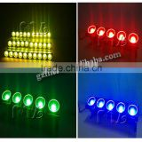 Hot led stage light bar 5x10w rgb 3 in 1 LED pixel mapping dot matrix audience blinder light