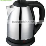 Baidu Factory Free Sample Hotel Restaurant Supply 1.8L Fast Boil Stainless Steel Electric Kettle for Tea Coffee Milk
