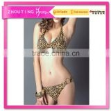 BSC010 Hot sale women fission printing swimwear bikini