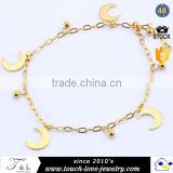cheap stainless steel jewelry gold anklet designs ankle chain fashion anklets