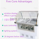 Multifunctional table top small batch freezer with high quality LK-1.2BDQ
