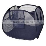 Navy Blue Deluxe Pop-Up Hamper laundry basket Pyramid for colthes , toys ,bathroom accessories