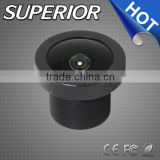 3mp cctv board wide angle lens focal length 1.38mm f2.1 cctv board camera zoom lens fisheye lens for ip camera