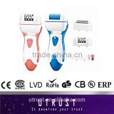 hot sale new coming professional rechargeable battery color callus remover