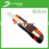 Hot sale plastic film knife cutter with carbon steel blade
