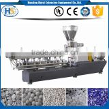 co-rotating masterbatch twin screw granules pellet making Automatic Second Hand Germany Plastic Extruder Machine