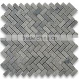 High Quality Carrara Grey Marble Mosaic Slate For Bathroom/Flooring/Wall etc & Mosaic Tiles On Sale With Low Price
