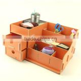 Fashion Creative Wooden DIY Cosmetic, Collection Organizer, Jewelry Storage