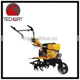 best 6.5HP gasoline hand tiller chain driving agriculture cultivator