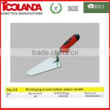 masonry trowel for building construction