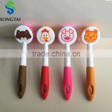 cute cartoon anmials cleaning brush
