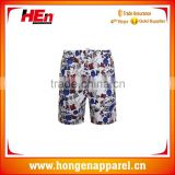 Hongen apparel newest hot selling boys beach pant coloful beach wear