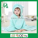 Animal shaped blanket baby 100 polyester plush fleece