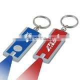 mini cheap UV bill note dector keyring torch light