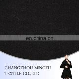 twill weave woolen fabric, black colour wool fabric, wool nylon blend fabric for coats and uphylstery