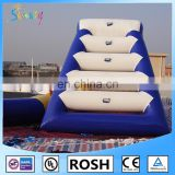 HOT Inflatable Water Island And Float Climbing Wall