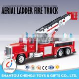 Newest electric truck plastic remote control fire engine toys