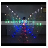 BestDance LED Costumes 360 Isis Wings Belly Dance Rechargeable Led Wings Fancy Light Up Show