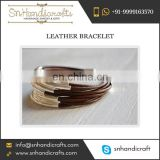 Braid Leather Bracelet Unisex for Gifts Going Away at Awesome Rate by Dependable Supplier