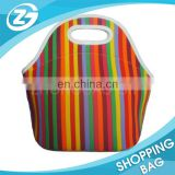 Neoprene Lunch bag Cooler bag In Different Colors Durable Shockproof Picnic Case Lunch Tote Bag