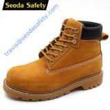 Goodyear welted safety boots
