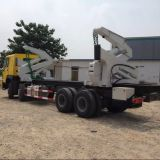 Sinotruk 20ft 37 tons container side lifter truck for sale