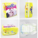 Strong absorbent Babies Age Group and Non Woven Fabric Material baby diaper Magic tape