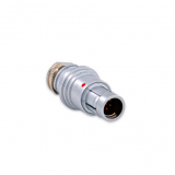 Push-pull self-latching F series 4pin metal plug connectors